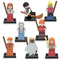 Фигурки Harry Potter Гарри Поттер Лего 8 шт Новый дизайн набор, фото 1