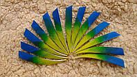 Перо многоцветное индюшиное, фото 1