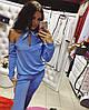 Женский стильный костюм с открытыми плечиками (4 цвета)