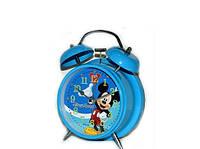 """Красивые часы будильник детский """"Микки Маус"""" мультгерои"""