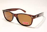 Солнцезащитные очки с поляризацией Ray Ban P2129 C2 SM (реплика)