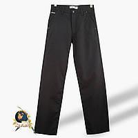 Джинсы мужские прямые Calvados с косыми карманами чёрного цвета 34 размер.