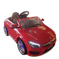 Детский электромобиль Mercedes-Benz SLS AMG M 3183 EBLR-4, мягкие колеса и кожаное сиденье
