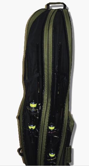 Чохол KENT&AVER напівжорсткий 02, двосекційний, коричневий, 1450 мм