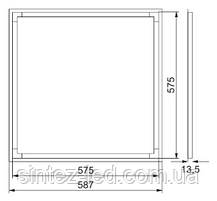 Светодиодный светильник SL-405L 40W 5000K ART-MAGIC SQUARE Код.57876, фото 3