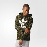 Джемпер мужской Adidas Originals Trefoil Camouflage Hoodie Multicolor BK5884 - 2017