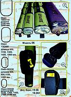 Чехол KENT&AVER жёсткий овал,600 мм.(58х28),зелёный