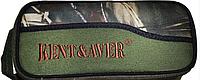 Бокс KENT&AVER для катушек 08,жёсткий,зелёный,250х120х100 мм.