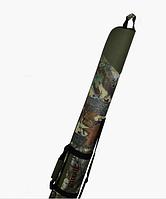 Чехол KENT&AVER для ружья 11,полуж.(с капсулой),зелёный,1300 мм.
