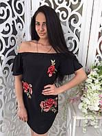 Платье женское вышивка