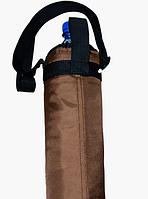 Термос для бутылки 1 л.,коричневый