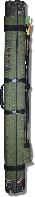 Тубус KENT&AVER жёсткий 24,овал,раскрыв.по длине,зелёный,1300 мм.