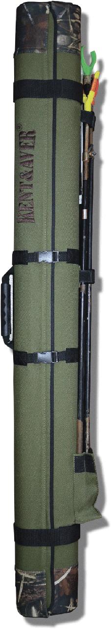 Тубус KENT&AVER жёсткий 24,овал,раскрыв.по длине,зелёный,1400 мм.