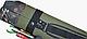 Тубус KENT&AVER жёсткий 24,овал,раскрыв.по длине,зелёный,1400 мм., фото 4