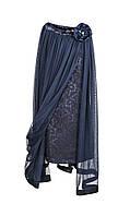 Платье нарядное с накидкой