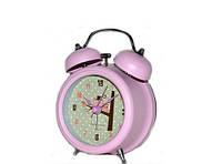 Красивые часы будильник детский для девочки мультгерои