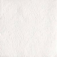 "Салфетки бумажные декоративные ""  Elegance White  """