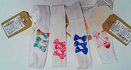 Головной убор Повязка для девочек Белый ГУ88 (104-1) Бэмби Украина