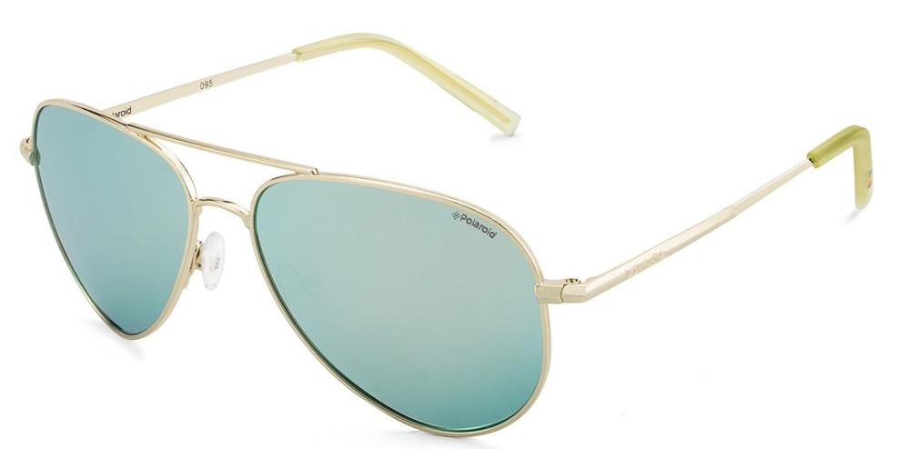 Солнцезащитные очки Polaroid Очки женские с поляризационными зеркальными  линзами POLAROID (ПОЛАРОИД) P6012N-J5G56JB d367e9fab3e