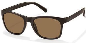 Солнцезащитные очки Polaroid Очки мужские в гибкой оправе с поляризационными ультралегкими линзами POLAROID (ПОЛАРОИД) P3009S-LLN53IG