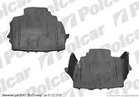 Защита под двигатель на VW GOLF III (1H) (HB+комби+CABRIO) 08.91 - 04.99