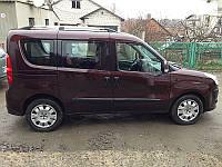 Рейлинги для Fiat Doblo 2010+ /короткая база /Хром /Abs