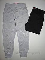 Спортивные трикотажные  брюки  для девочек Grace