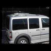 Рейлинги для Ford Connect /длинная база /Хром /Abs