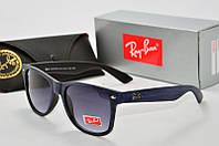 Солнцезащитные очки RB Wayfarer синие, фото 1