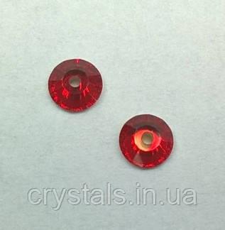Пришивные паетки хрустальные Preciosa (Чехия) Light Siam 5 мм