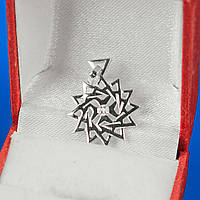 Серебряная двухсторонняя звезда Эрцгаммы. Заряженная и активированная.