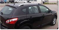Рейлинги для Nissan Qashqai 2007-2014 /оригинальные Crown,Крепление на клей