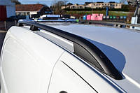 Рейлинги для Fiat Fiorino/Citroen Nemo/Peugeot Bipper 2008+ /тип Crown,Черные