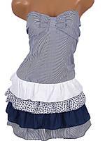 Стильное женское платье (в расцветках)