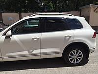 Рейлинги для Volkswagen Touareg 2010+ /тип Crown,Крепление на клей