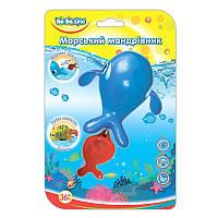 """Игрушка для ванной """"Морской путешественник-Кит""""; 3+;  57079"""