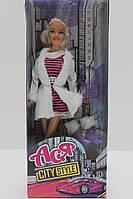 """Кукла Ася шарнирная """"Городской стиль"""", 28 см, брюнетка, 35067"""