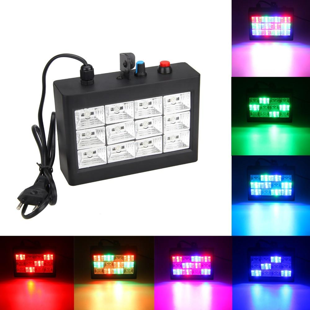 Стробоскоп Led Room Strobe RGB 12 - домашняя цветомузыка