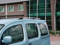 Рейлинги для Renault Kangoo 2008+ /Хром /Abs