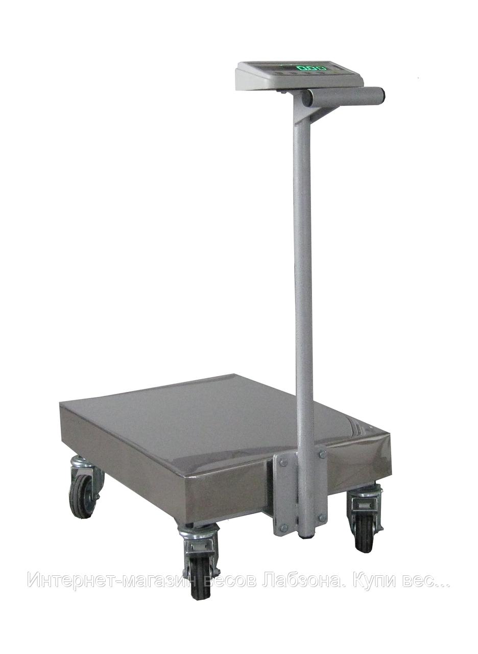 Весы-тележка электронные на 300, 600 кг
