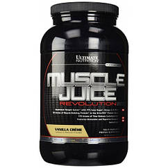 Гейнеры Muscle Juice Revolution 2600 ( 2,1 кг ) Ultimate Nutrition