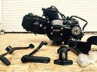 Двигатель 110см3 Альфа, Дельта, Актив (полуавтомат)