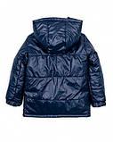 Детская куртка на мальчика весна-осень 1-5 лет синяя, фото 2