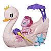 Набор My Little Pony Friendship is Magic Pinkie Pie Row & Ride Swan Boat. Пинки Пай на лодке.