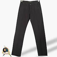 Джинсы-брюки мужские прямые Le Gutti  чёрного цвета 33 размер.