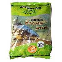 Прикормка Секрет улова (карп-мед)1 кг