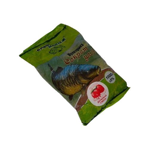 Прикормка Секрет улову (короп-полуниця)1 кг