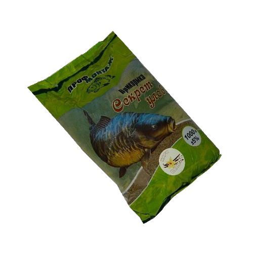 Прикормка Секрет улова (карп-конопля)1 кг