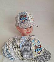 Кепка детская с корабликом хлопок р 50