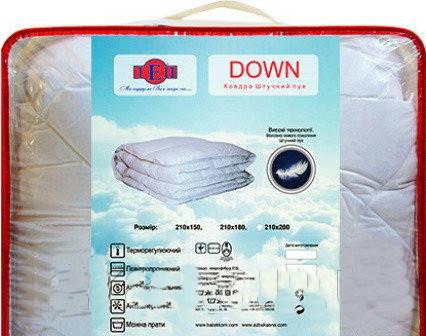 Одеяло ТЕП «Down» microfiber из «Лебяжьего пуха»., фото 2